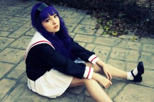 Tomoyo Daidouji by DascocoCosplay