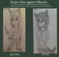 Draw This Again! Meme by LoneWolf974
