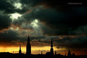 Old Town of Riga by Drielix