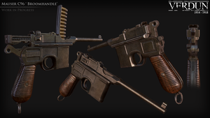 C96 Mauser by Volcol