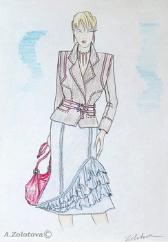 Suit for business Women by AnnaZLove