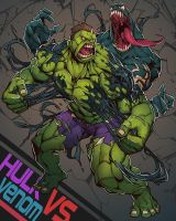 HULK VS VENOM by 56219920