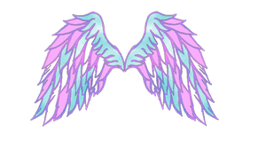 COM: Angel wings for shweetcupcake by GlimmeringAngel26