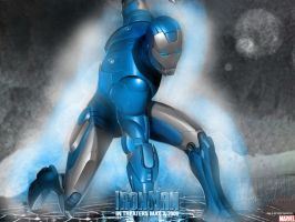 Iron Man: Blue and Silver by ShakeSlayer