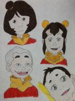 A:TLOK- Airbender Kids by oblivious15