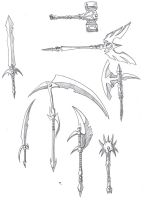 Weapons by Dragonsoul12