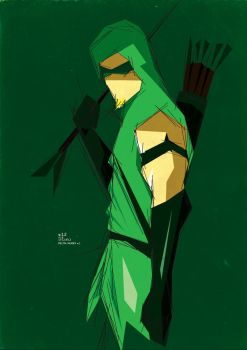 #12. Green Arrow by ColourOnly85