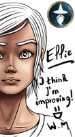 Ellie - Head coloring by White-Magician