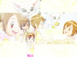 Fated to Meet: Kari + Gatomon by TheFallingSnow