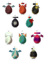 100-8 Themes - Mystery Egg Adopts - Adopted by Feralx1
