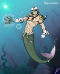 My Merman As a DIGIMON by AndsportsART