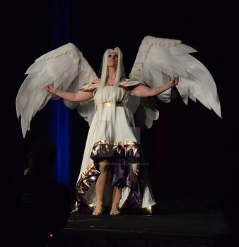 On stage at NDK Irisviel Angel by Silver-Fyre