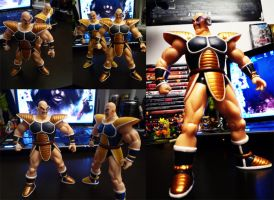 Custom Nappa Figure by MolochTDL
