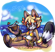 Beach Lounging by Safyran