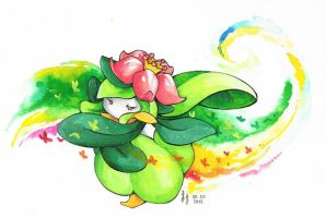 Lilligant by ravenoath