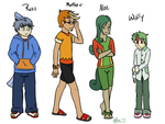 The Protagonists by Meta-Akira