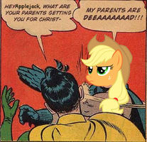 Applejack's Parents Are Dead by zaponator