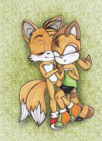 in the grass - marine x tails by Paya-Art