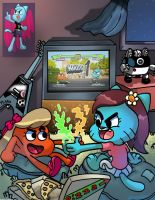 The Amazing World of Gumball *updated description* by WaniRamirez