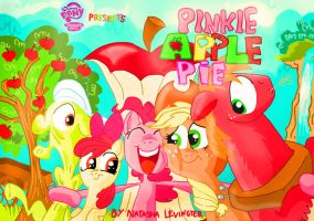 Pinkie Apple Pie title card by seriousdog