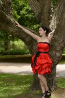 Red Satin 16 by Anariel-Stock