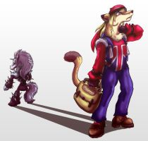 Weasel Low by shinragod