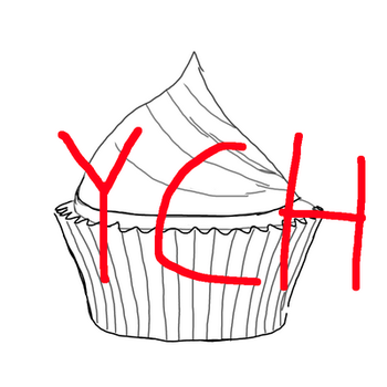 YCH cupcakes by DreamweaverofChaos