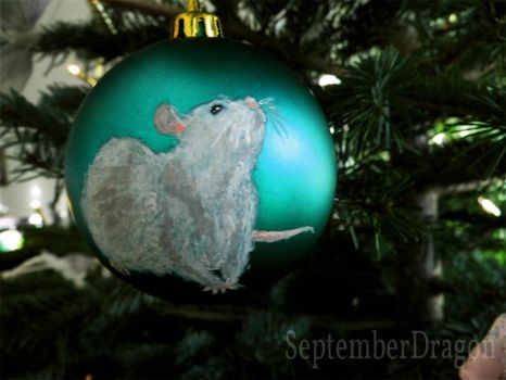 Bauble - Rat by SeptemberDragon