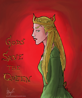 ASOIAF. Cersei by morlockiness