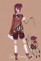 Female Puppeteer HQ Adoptable - CLOSED by BeesHoneypot