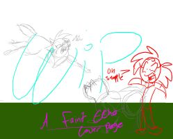 A Faint Echo Cover page WIP by BlackWolfXP