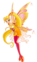 Stella bloomix/Winx club 6 season by Forgotten-By-Gods