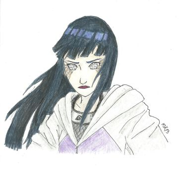 finished Hinata by mettle5