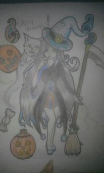 OC Soulhunter Witch Version HAPPY HALLOWEEN by Soulhunter98