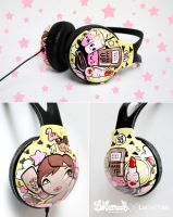 Make Up Headphones by Bobsmade