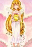 Angelic Palmtop Tiger by LordNobleheart