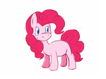 first ipad drawing - pinkie pie by nokinno