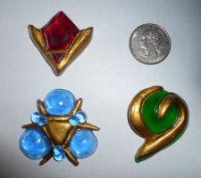 Miniature Spiritual Stone Set by Linksliltri4ce