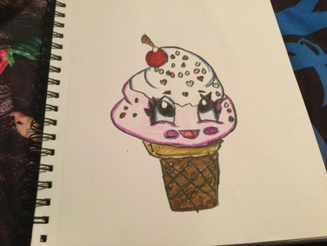 Kawii Ice Cream Cone by Animehreats