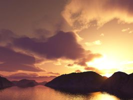 Terragen- Tranquility Plain by theloz