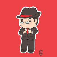 Gentleman Mark by OutOfTheAshes95