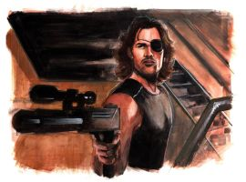 """The name is """"Plissken"""". Color by Mooneyham"""