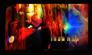 iron man 2 wallpaper by R-Clifford