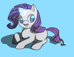 My Little Rarity by Radioactive-K