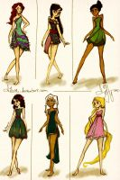 Disney goes modern by Vilva