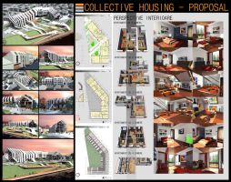 Collective Housing Part II by Mousset