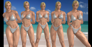 Nina Williams collage 2: Bikini by 4wearemanytoo