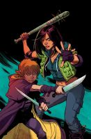 Hack/Slash: Son of Samhain by Cameron Stewart by whoisrico