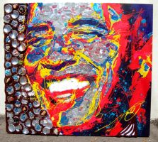 Obama - RedBull Art of can contest by CostinCraioveanu