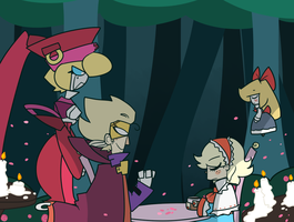 Puppeteers by MarshyTan